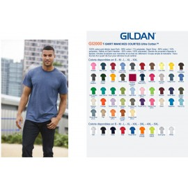 T-shirt ultra cotton GILDAN 190g